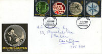 5 SEPTEMBER 1989 MICROSCOPES ROYAL MAIL FIRST DAY COVER COVENTRY FDI