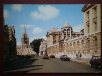 POSTCARD OXFORDSHIRE OXFORD THE HIGH STREET