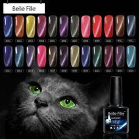 BELLE FILLE 3D Effect Magnetic Cat Eye UV/LED SOAK OFF GEL NAIL POLISH Manicure