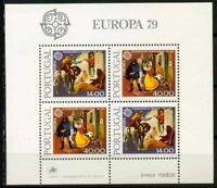 Portugal 1979 SG MS1753 Block 100% Europa CEPT Postfrisch