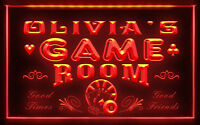 PL-TM B Name Personalized Custom Game Room Man Cave Bar Beer Neon Sign