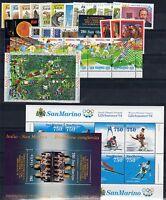 San Marino  1994 Annata cpl. + Foglietti  MNH** OFFERTA