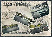 Biella Lago di Viverone foto cartolina B3105 SZG