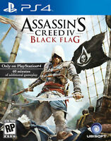 Assassin's Creed IV: Black Flag PlayStation 4 PS4 Game Brand New and Sealed