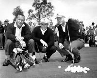 1972 PGA Golf JACK NICKLAUS, GARY PLAYER & ARNOLD PALMER Glossy 8x10 Photo