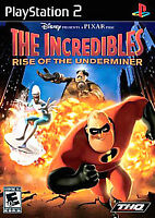 Incredibles: Rise of the Underminer (Sony PlayStation 2, 2005) COMPLETE FAST PS2