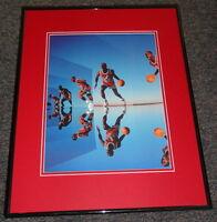 Michael Jordan 1991 Mirrors Framed 11x14 Poster Photo Bulls