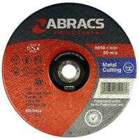 "ABRACS PHOENIX METAL CUTTING DISCS DPC 125MM 5"" x 10"