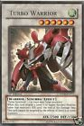 2 X YU-GI-OH RARE: TURBO WARRIOR - DP08-EN015 - 1st ED.
