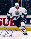 ERIC BREWER Signed EDMONTON OILERS 8x10 Photo w/COA