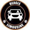 "LIMOUSINE BEAGLE 5"" DOG STICKER"