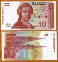 Croatia, 10 Dinara, 1991, P-18, First Independent, UNC