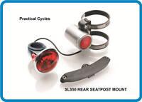 NEW Reelight SL550 batteryless bicycle light REAR