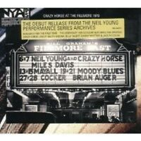 """NEIL YOUNG & CRAZY HORSE """"LIVE AT THE..."""" CD NEW"""