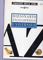 dizionario enciclopedico corriere sera 2 volumi