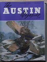 AUSTIN Owners 12 Car MAGAZINES Bound Volume 1953