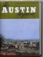 AUSTIN Owners 12 Car MAGAZINES Bound Volume 1957