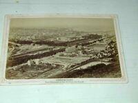 CHERBOURG vue générale photo véritable   1890 16x11cm