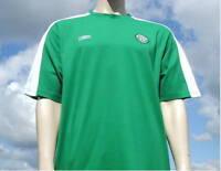 BNWT Celtic Green SS Retro Umbro Training Shirt XXL
