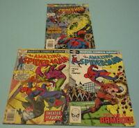 3 AMAZING SPIDER-MAN MARVEL COMIC BOOKS