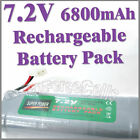 1 x 7.2V 6800mAh Ni-MH Rechargeable Battery Pack RC