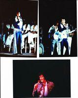 "1970S RARE ELVIS PRESLEY 4X6"" CONCERT PHOTO LOT 3 6/36"