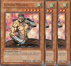 3 X YU-GI-OH RARE: COMBO MASTER - CDIP-EN029