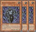 3 X YU-GI-OH: DARK LUCIUS - CDIP-EN009