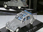 BELLE CITROEN 2CV 1957/58 (COFFRE) GRIS MOYEN /ALTAYA