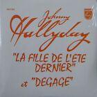 JOHNNY HALLYDAY - LA FILLE DE L' ETE DERNIER / CD