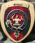 Scottish Gifts Stewart Family Clan Crest Wall Plaque