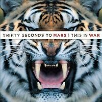 "30 SECONDS TO MARS ""THIS IS WAR"" CD NEW"