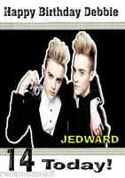Jedward Personalised BIrthday Card or Any Occasion A5