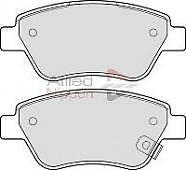 OPEL CORSA D 1.0 PETROL FRONT BRAKE PADS FROM 7/2006