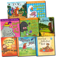 Julia Donaldson Gruffalo Collection 8 Books Set pack series Inc Zog