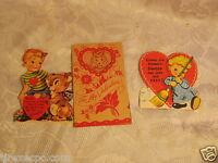 VALENTINE CARD LOT VINTAGE