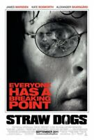 STRAW DOGS (2011) Marsden ORIGINAL DOUBLE SIDED Cinema 1 Sheet FILM MOVIE POSTER