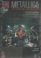 Drum Legendary Licks Metallica 1983 - 1988 Drum Grooves And Fills Tuition DVD
