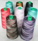 100% Merc Cotton Thread / Quilting Thread / Serging Thread (COLORS)