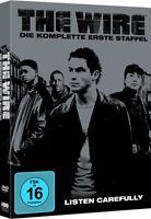 THE WIRE - komplette Staffel Season 1 - NEU NEW 5 DVDs Drama - Dominic West
