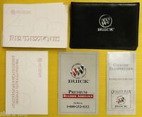 Rendezvous 02 2002 Buick Owners Owner's Manual Set with Case