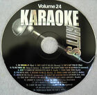 **KARAOKE CD+G DISC KARAOKE HITS VOLUME 24**