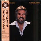 Kenny ROGERS Daytime friends Japanese LP LIBERTY 323 OBI