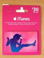 $30 iTunes Gift Card AU Store *NEW!!*