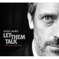 "HUGH LAURIE ""LET THEM TALK"" CD+DVD NEW"