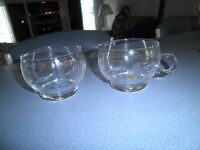 Princess House Crystal ~ Open Sugar and Creamer ~ Heritage