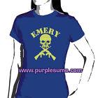 EMERY:Yellow Skull:Ladies/Girls Shirt NEW:Size 10
