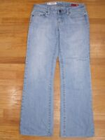 Women's Express X2 Jeans Skinny W01 Boot Cut Size 4 Long (28x29) Ultra Low Rise!