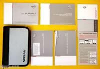 Murano SUV 02 2002 Nissan Owners Owner's Manual Set With Case 4X4 4X2