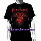 IN FLAMES:Baphomet:T-shirt:NEW:LARGE ONLY